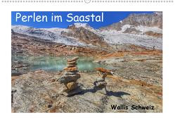 Perlen im Saastal Wallis Schweiz (Premium, hochwertiger DIN A2 Wandkalender 2020, Kunstdruck in Hochglanz) von Michel,  Susan