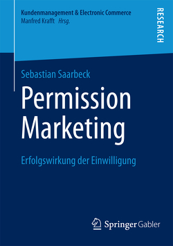 Permission Marketing von Saarbeck,  Sebastian