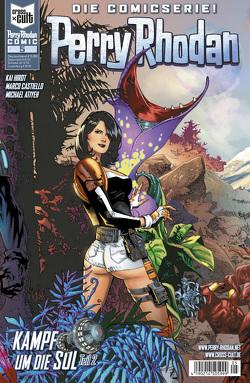 Perry Rhodan Comic 5: Kampf um die SOL 2 von Atiyeh,  Michael, Castiello,  Marco, Hirdt,  Kai