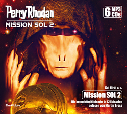Perry Rhodan Mission SOL 2 – Die komplette Miniserie (6 MP3-CDs) von Brill,  Olaf, Bross,  Martin, Hary,  Ben Calvin, Hirdt,  Kai, Perplies,  Bernd, Ritter,  Hermann, Schmidt,  Dietmar