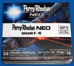 Perry Rhodan Neo 01-08 MP3-CD Bundle von Borsch,  Frank, Dinger,  Hanno, Gottschick,  Axel, Herren,  Marc A., Montillon,  Christian, Perplies,  Bernd, Ritter,  Hermann, Thurner,  Michael Marcus, Vandemaan,  Wim