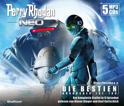 Perry Rhodan Neo Episoden 191-199 (5 MP3-CDs) von Arno,  Endler, Dinger,  Hanno, Gottschick,  Axel, Hirdt,  Kai