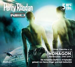 Perry Rhodan Neo Episoden 240-249 (5 MP3-CDs) von Dinger,  Hanno, Gottschick,  Axel, Guth,  Lucy, Plaschka,  Oliver
