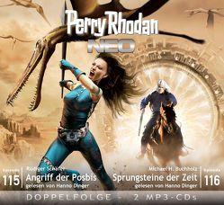 Perry Rhodan NEO MP3 Doppel-CD Folgen 115 + 116 von Buchholz,  Michael H., Dinger,  Hanno, Schäfer,  Rüdiger