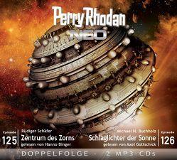 Perry Rhodan NEO MP3 Doppel-CD Folgen 125 + 126 von Buchholz,  Michael H., Dinger,  Hanno, Gottschick,  Axel, Schäfer,  Rüdiger