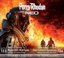 Perry Rhodan NEO MP3 Doppel-CD Folgen 133 + 134 von Buchholz,  Michael H., Dinger,  Hanno, Gottschick,  Axel, Hirdt,  Kai