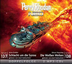 Perry Rhodan NEO MP3 Doppel-CD Folgen 137 + 138 von Dinger,  Hanno, Endler,  Arndt, Plaschka,  Oliver