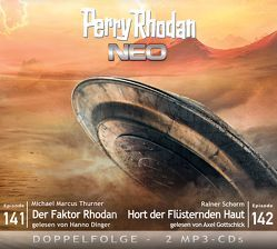 Perry Rhodan NEO MP3 Doppel-CD Folgen 141 + 142 von Dinger,  Hanno, Gottschick,  Axel, Schorm,  Rainer, Thurner,  Michael Marcus