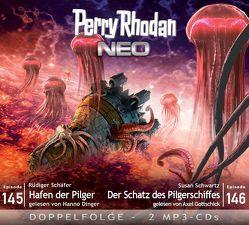 Perry Rhodan NEO MP3 Doppel-CD Folgen 145 + 146 von Dinger,  Hanno, Gottschick,  Axel, Schäfer,  Rüdiger, Schwartz,  Susan