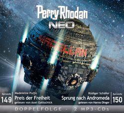 Perry Rhodan NEO MP3 Doppel-CD Folgen 149 + 150 von Dinger,  Hanno, Gottschick,  Axel, Puljic,  Madeleine, Schäfer,  Rüdiger