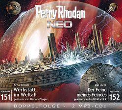 Perry Rhodan NEO MP3 Doppel-CD Folgen 151 + 152 von Dinger,  Hanno, Endler,  Arno, Gottschick,  Axel, Hirdt,  Kai