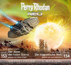 Perry Rhodan NEO MP3 Doppel-CD Folgen 153 + 154 von Dinger,  Hanno, Gottschick,  Axel, Schorm,  Rainer, Schwartz,  Susan