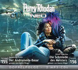 Perry Rhodan NEO MP3 Doppel-CD Folgen 155 + 156 von Dinger,  Hanno, Gottschick,  Axel, Plaschka,  Oliver, Puljic,  Madeleine
