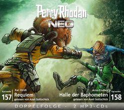 Perry Rhodan NEO MP3 Doppel-CD Folgen 157 + 158 von Dinger,  Hanno, Endler,  Arno, Gottschick,  Axel, Hirdt,  Kai