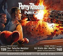 Perry Rhodan NEO MP3 Doppel-CD Folgen 159 + 160 von Dinger,  Hanno, Gottschick,  Axel, Schäfer,  Rüdiger, Schorm,  Rainer