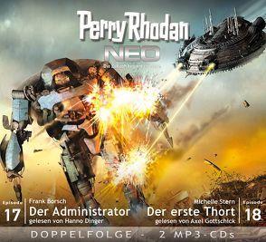 Perry Rhodan NEO MP3 Doppel-CD Folgen 17 + 18 von Borsch,  Frank, Dinger,  Hanno, Gottschick,  Axel, Stern,  Michelle