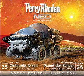 Perry Rhodan NEO MP3 Doppel-CD Folgen 25 + 26 von Gottschick,  Axel, Lukas,  Leo, Perplies,  Bernd