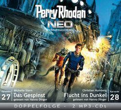 Perry Rhodan NEO MP3 Doppel-CD Folgen 27 + 28 von Dinger,  Hanno, Humberg,  Christian, Stern,  Michelle