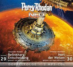 Perry Rhodan NEO MP3 Doppel-CD Folgen 29 + 30 von Gottschick,  Axel, Huiskes,  Alexander, Montillon,  Christian