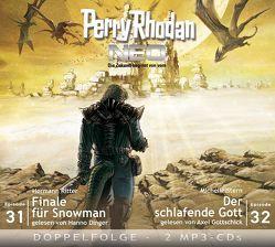 Perry Rhodan NEO MP3 Doppel-CD Folgen 31 + 32 von Dinger,  Hanno, Gottschick,  Axel, Ritter,  Hermann, Stern,  Michelle