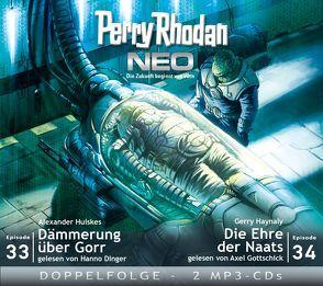 Perry Rhodan NEO MP3 Doppel-CD Folgen 33 + 34 von Dinger,  Hanno, Gottschick,  Axel, Haynaly,  Gerry, Huiskes,  Alexander