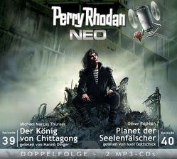Perry Rhodan NEO MP3 Doppel-CD Folgen 39 + 40 von Dinger,  Hanno, Fröhlich,  Oliver, Gottschick,  Axel, Thurner,  Michael Marcus