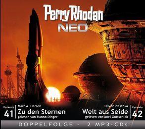 Perry Rhodan NEO MP3 Doppel-CD Folgen 41 + 42 von Dinger,  Hanno, Gottschick,  Axel, Herren,  Marc A., Plaschka,  Oliver