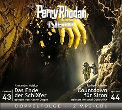 Perry Rhodan NEO MP3 Doppel-CD Folgen 43 + 44 von Dinger,  Hanno, Gottschick,  Axel, Huiskes,  Alexander, Schäfer,  Rüdiger