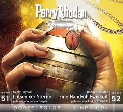 Perry Rhodan NEO MP3 Doppel-CD Folgen 51 + 52 von Dinger,  Hanno, Haynaly,  Gerry, Schäfer,  Rüdiger