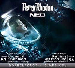 Perry Rhodan NEO MP3 Doppel-CD Folgen 53 + 54 von Huiskes,  Alexander, Plaschka,  Oliver
