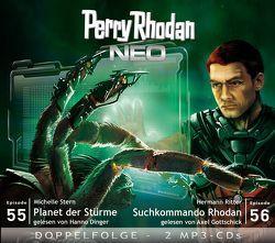 Perry Rhodan NEO MP3 Doppel-CD Folgen 55 + 56 von Dinger,  Hanno, Ritter,  Hermann, Stern,  Michelle