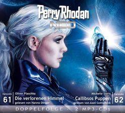 Perry Rhodan NEO MP3 Doppel-CD Folgen 61 + 62 von Dinger,  Hanno, Gottschick,  Axel, Plaschka,  Oliver, Stern,  Michelle