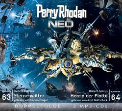 Perry Rhodan NEO  MP3 Doppel-CD Folgen 63 + 64 von Corvus,  Robert, Dinger,  Hanno, Gottschick,  Axel, Mathiak,  Dennis