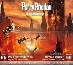Perry Rhodan NEO MP3 Doppel-CD Folgen 65 + 66 von Bottlinger,  Andrea, Dinger,  Hanno, Gottschick,  Axel, Huiskes,  Alexander