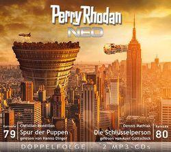 Perry Rhodan NEO MP3 Doppel-CD Folgen 79 + 80 von Dinger,  Hanno, Gottschick,  Axel, Mathiak,  Dennis, Montillon,  Christian