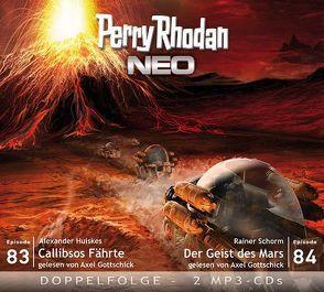 Perry Rhodan NEO MP3 Doppel-CD Folgen 83 + 84 von Gottschick,  Axel, Huiskes,  Alexander, Schorm,  Rainer