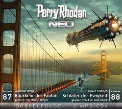 Perry Rhodan NEO MP3 Doppel-CD Folgen 87 + 88 von Dinger,  Hanno, Fröhlich,  Oliver, Gottschick,  Axel, Stern,  Michelle