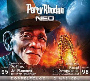 Perry Rhodan NEO MP3 Doppel-CD Folgen 95 + 96 von Dinger,  Hanno, Gottschick,  Axel, Michelle,  Stern, Rainer,  Schorm