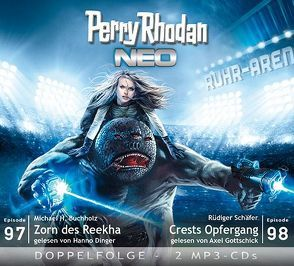 Perry Rhodan NEO MP3 Doppel-CD Folgen 97 + 98 von Buchholz,  Michael H., Dinger,  Hanno, Gottschick,  Axel, Schäfer,  Rüdiger