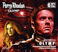 Perry Rhodan Olymp – Die komplette Miniserie (6 MP3-CDs) von Baaken,  Renier, Mathiak,  Dennis, Puljic,  Madeleine, Schmidt,  Dietmar, Schwartz,  Susan