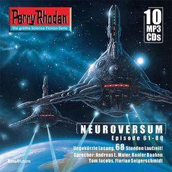 Perry Rhodan Sammelbox Neuroversum-Zyklus 61-80 von Baaken,  Renier, Montillon,  Christian, Thurner,  Michael Marcus, Vandemaan,  Wim
