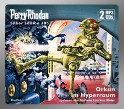 Perry Rhodan Silber Edition 105: Orkan im Hyperraum (2 MP3-CDs) von Ewers,  H.G., Maier,  Andreas Laurenz, Voltz,  William
