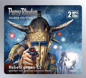 Perry Rhodan Silber Edition 97: Rebell gegen ES (2 MP3-CDs) von Darlton,  Clark, Ewers,  H.G., Mahr,  Kurt, Maier,  Andreas Laurenz, Vlcek,  Ernst, Voltz,  William