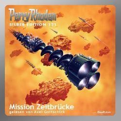 Perry Rhodan Silber Edition (MP3-CDs) 121 – Mission Zeitbrücke von Ewers,  H.G., Francis,  H G, Gottschick,  Axel, Griese,  Peter, Kneifel,  Hans, Mahr,  Kurt, Sydow,  Marianne, Terrid,  Peter, Vlcek,  Ernst
