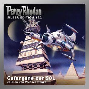 Perry Rhodan Silber Edition (MP3-CDs) 122 – Gefangene der SOL von Darlton,  Clark, Griese,  Peter, Mahr,  Kurt, Stange,  Michael