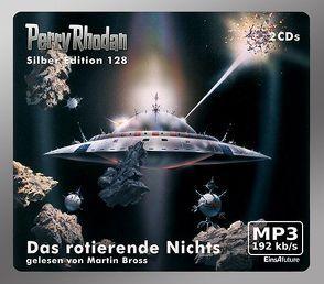 Perry Rhodan Silber Edition (MP3 CDs) 128 – Das rotierende Nichts von Bross,  Martin, Francis,  H G, Hoffmann,  Horst, Mahr,  Kurt, Voltz,  William