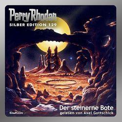 Perry Rhodan Silber Edition (MP3 CDs) 129 – Der steinerne Bote von Francis,  H G, Gottschick,  Axel, Mahr,  Kurt, Sydow,  Marianne, Vlcek,  Ernst
