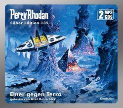 Perry Rhodan Silber Edition (MP3 CDs) 135: Einer gegen Terra von Gottschick,  Axel, Mahr,  Kurt, Sydow,  Marianne, Vlcek,  Ernst, Voltz,  William