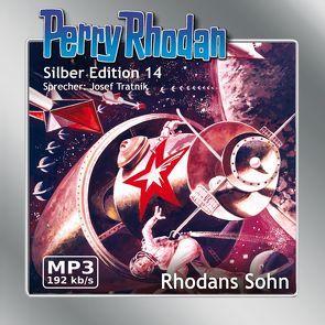Perry Rhodan Silber Edition (MP3-CDs) 14 – Rhodans Sohn von Brand,  Kurt, Darlton,  Clark, Mahr,  Kurt, Scheer,  K. H., Tratnik,  Josef, Voltz,  William