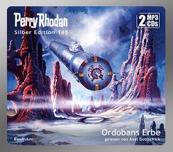 Perry Rhodan Silber Edition (MP3 CDs) 145: Ordobans Erbe von Gottschick,  Axel